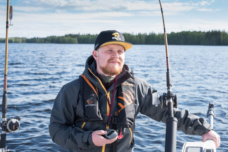 fishing guide in finland eemeli oksiala