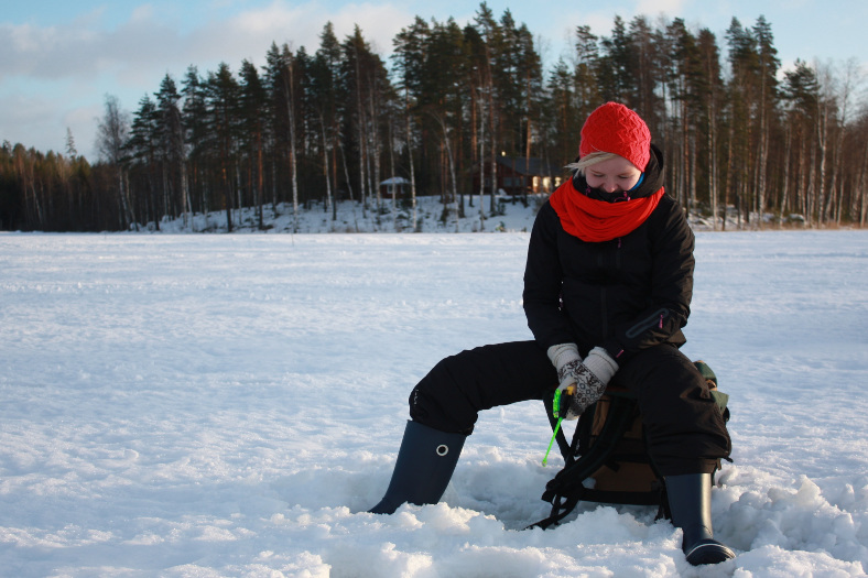 ice fishing finland