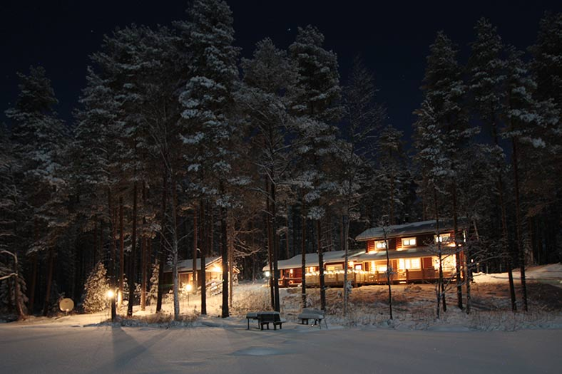 christmas villa for rent finland