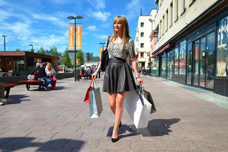 shopping finland