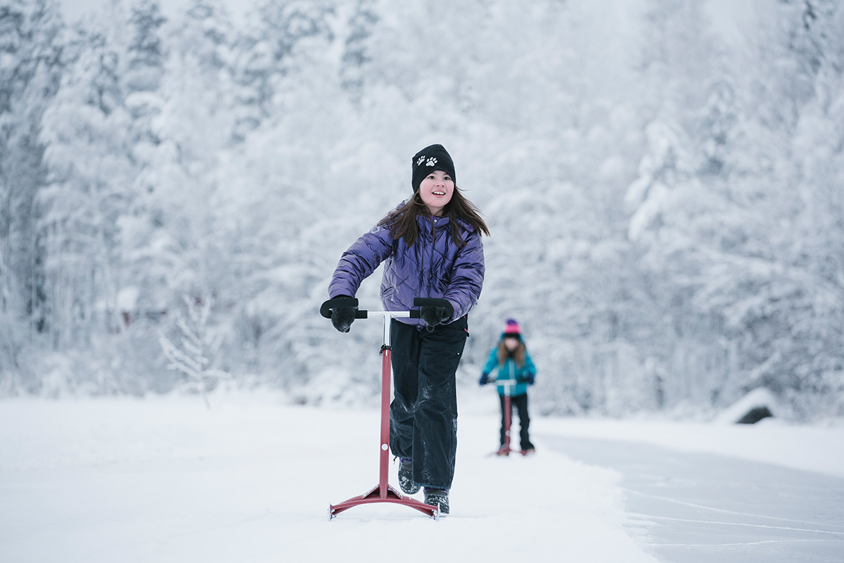 outdoor winter activities for children