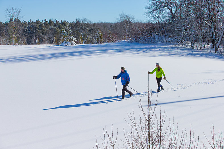 cross-country skiing finland