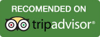 We are recommended on Holiday Lettings by Tripadvisor.